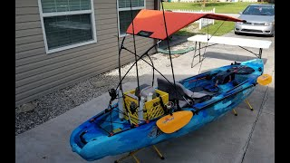 Adventure Canopies Reel Shade Kayak Accessory Sun Shade Install & Setup