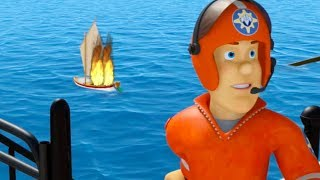 Fireman Sam US New Episodes | Castle in the air - Season 10 Best Saves 🚒 🔥 Videos For Kids