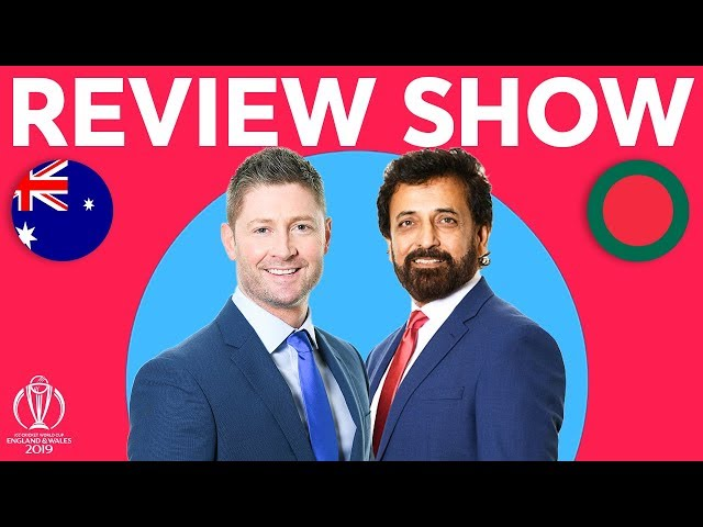 The Review - Australia vs Bangladesh | Warner Strikes Again! | ICC Cricket World Cup 2019