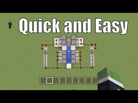 Minecraft Tutorial: How to build a TNT cannon