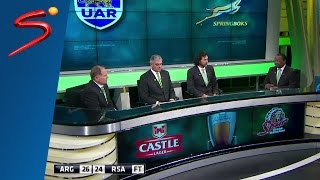 Argentina vs South Africa - Rugby Championship Round 2 Wrap