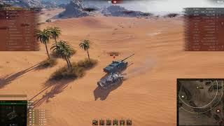 Т-100 ЛТ, Песчаная река, Стандартный бой