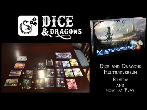 Dice and Dragons - Multiuniversum Review and How to Play