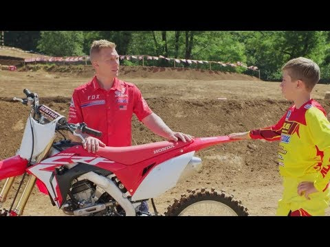 2018 Honda CRF250R in Sanford, North Carolina - Video 2