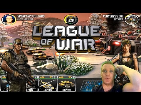 League of War: Mercenaries LETS PLAY! #1 (Epic new Game iOS + Android)