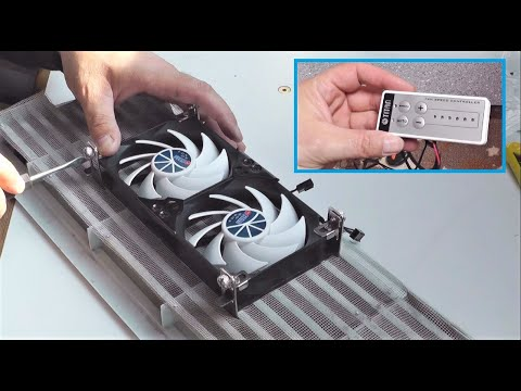 Kühlschranklüfter für Wohnwagen und Wohnmobil Einbauanleitung | Titan Tech