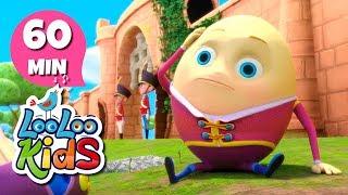 Humpty Dumpty - Great Nursery Rhymes for Children | LooLoo Kids