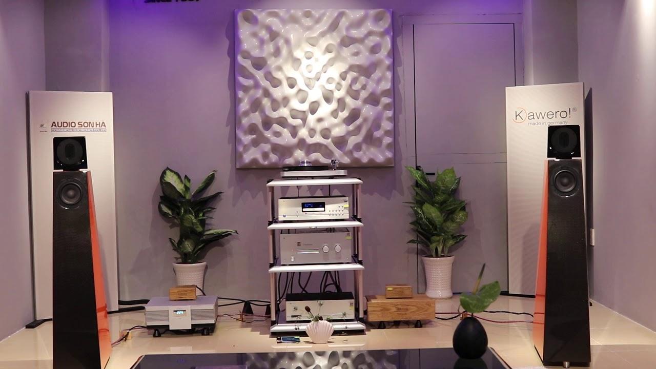 Eva Cassidy - Wonderful World (Loa Kaiser Vivace & Amply Audio note Kondo Overture & Phono Cary Audio PH-302)