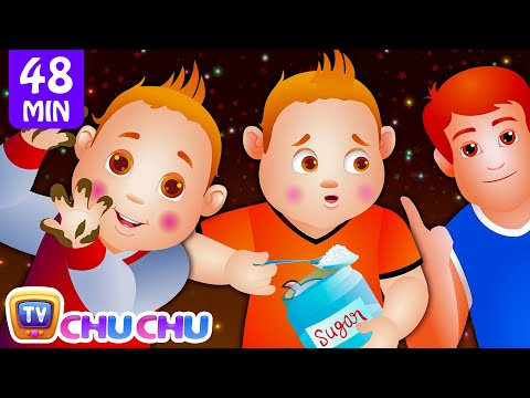 ChuChu TV Nursery Rhymes – US Version Vol.2 | Johny Johny Yes Papa Part 1, Part 2 & More Kids Songs
