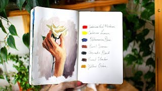 Painting & Art Talk | How to get your art into galleries | Sketchbook Sunday #47