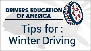 Winter Driving - Texas Adult Driving Course Online