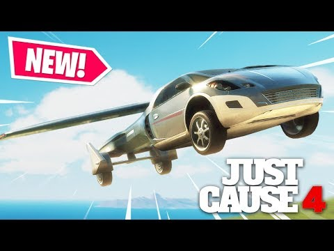 Just Cause 4 - NEW FLYING CAR & DAY NIGHT CYCLE UPDATE!