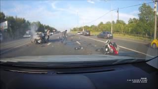 Дтп с участием мотоциклиста...