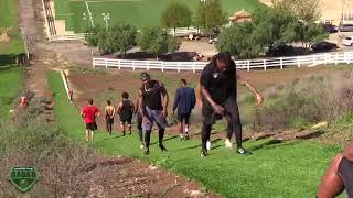 NFL's Bryce Treggs   Training Camp Tips and More   Sports Academy Off Season Grind 2017