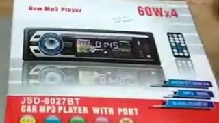 Tape Audio Mobil Multifungsi Bluetooth USB Mp3 Fm Radio [Unboxing & Test Running]