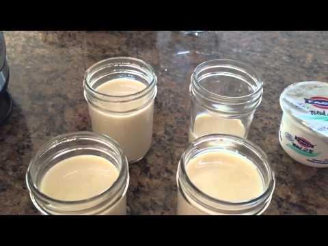 Making Yogurt from Soy Milk
