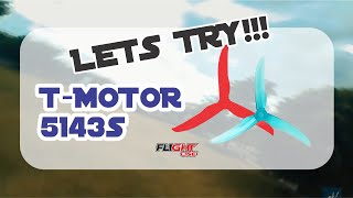 Fpv Freestyle   Testing tmotor 5143s props - feels amazing