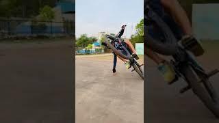Super Cycle stunt 💯 Attitude | WhatsApp status video 🔥#sort
