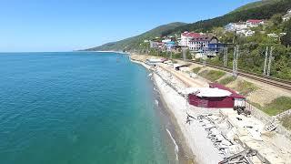 Сочи Лазаревское катастрофа исчезающие пляжи курорта 4К