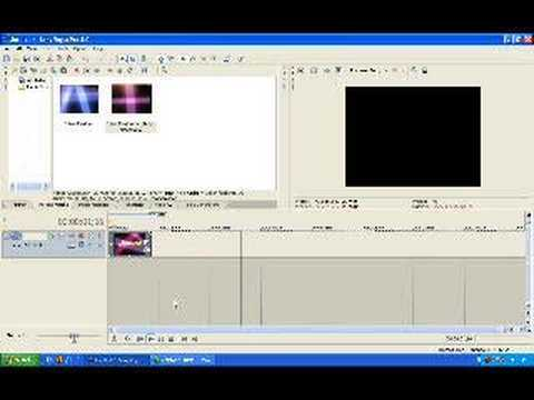 How to Reverse videos in Sony Vegas