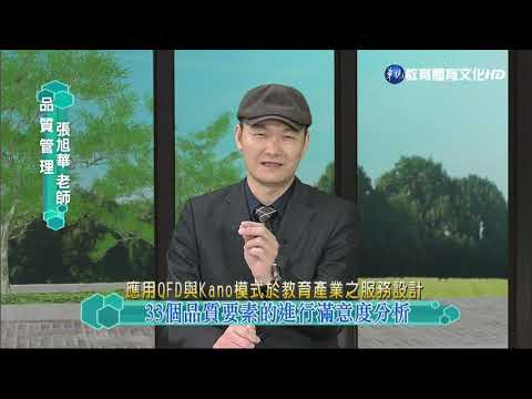 蘇峰民博士-應用QFD與Kano模式