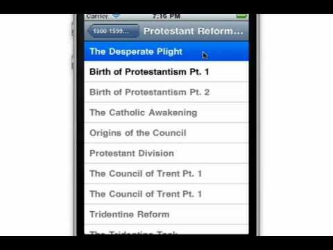 Video of Audio Catholic History