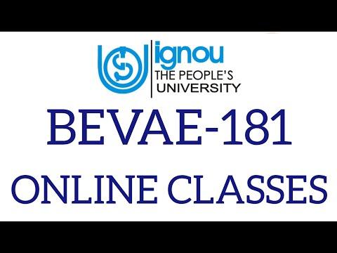 bevae 181 environmental studies Online classes Bag, Bcomg, Bsgc ...