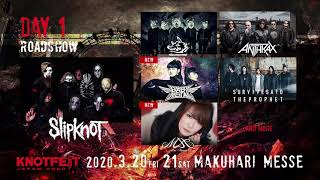 KNOTFEST JAPAN 2020 第5弾アーティスト発表