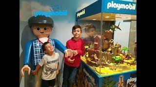 Η συμμετοχή μας στο διαφημιστικό spot | Βόλτα στο Playmobil Funpark | Geo Kids