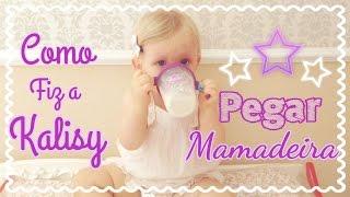 Como Fiz Para Meu Bebê Pegar Mamadeira