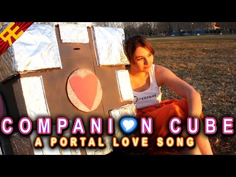 Heartwarming Valentine's Day Song From Chell To Her Companion Cube