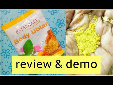 , title : 'patanjali body ubtan review & demo |best natural ubtan |honest review'