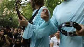 Dispatch - Not Messin' - Live Acoustic - Washington Square Park - Up Close!