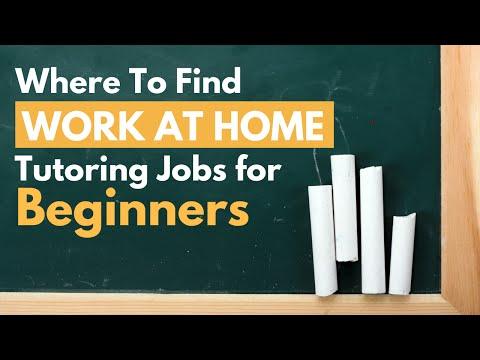 Where To Find Online Tutoring Jobs: Beginner Guide