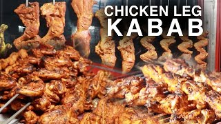 Chicken Leg Piece Kabab | Indian Street Food | Kabab | Street Food In Hyderabad | Yum Yum Street