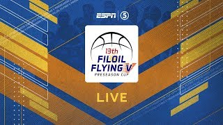 LIVE: Quarterfinal: DLSU vs. CSJL   Filoil Flying V Preseason Cup 2019