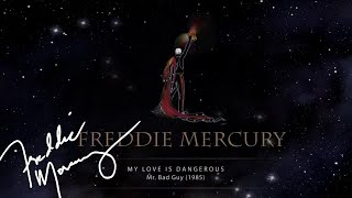 Freddie Mercury - My Love Is Dangerous (Official Lyric Video)