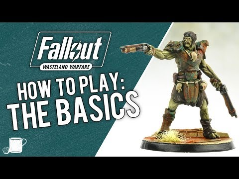 The Basics of How to Play Fallout Wasteland Warfare