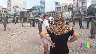 Nhà cầm quyền tiếp tục hành vi sai trái trên đất vườn rau Lộc Hưng