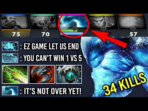 EPIC Pro 1 v 5 All Team Feed And They Think It's Over! Imba Morphling 7.22 Comeback by miCKe Dota 2
