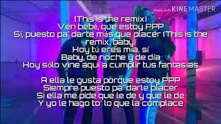 Kevin Roldán , Zion & Lennox   PPP Remix ( Lyricsletra)