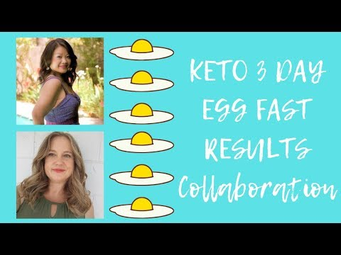 Keto 3 Day Egg Fast Results - Egg Fast Collaboration with Life Adventures and Keto