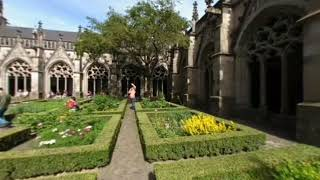 preview picture of video 'Utrecht, The Netherland, Walking Around The Dom Tower VR180'