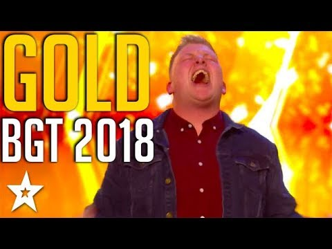 TOP 5 GOLDEN BUZZERS on Britain's Got Talent 2018   Got Talent Global