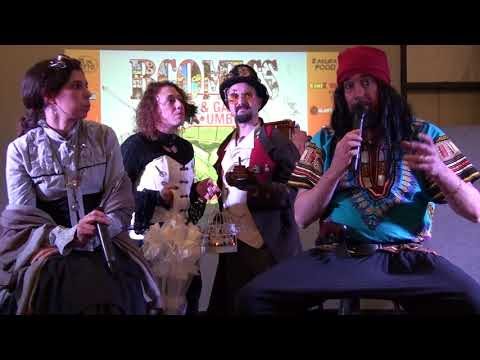 BComics 2018 Steampunk conferenze (parte 2 di 4)