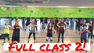 Full Cardio Dance Fitness Class 2 (includes warm-up and cool down) | Groove Fitness