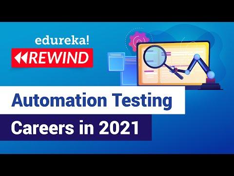 Automation Testing Careers in 2021 | Selenium Training | Edureka ...
