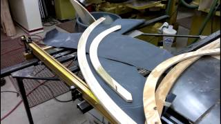 Making curved moulding