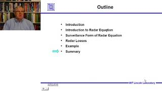 Introduction to Radar Systems – Lecture 2 – Radar Equation; Part 3