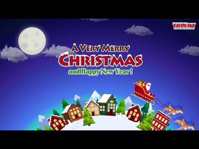 Talent Academy Wishes You a Merry Christmas And a Happy New Year.
